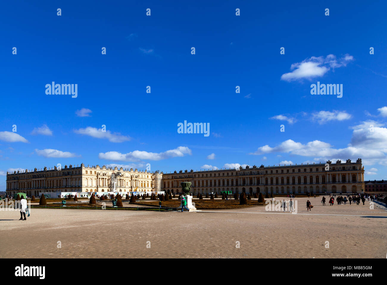 Chateau de Versailles (Palace of Versailles), a UNESCO World Heritage Site, France - Stock Image