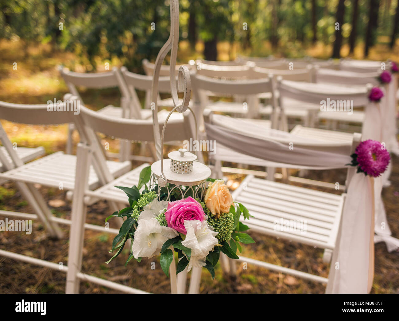 Floral Elegant Elements Of Wedding Decorations Settings For