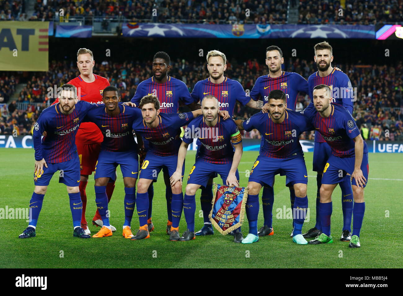 Barcelona in the Champions League 2018 - 2019 53