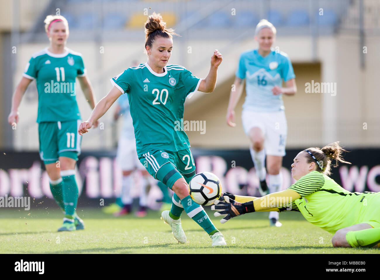 Wonderful Europe World Cup 2018 - 10-april-2018-slovenia-domzale-soccer-womens-world-cup-qualification-europe-group-stages-slovenia-vs-germany-germanys-lina-magull-c-and-slovenias-zala-mersnik-bottom-in-action-photo-sasa-pahic-szabodpa-MBBEB0  Pictures_592498 .jpg