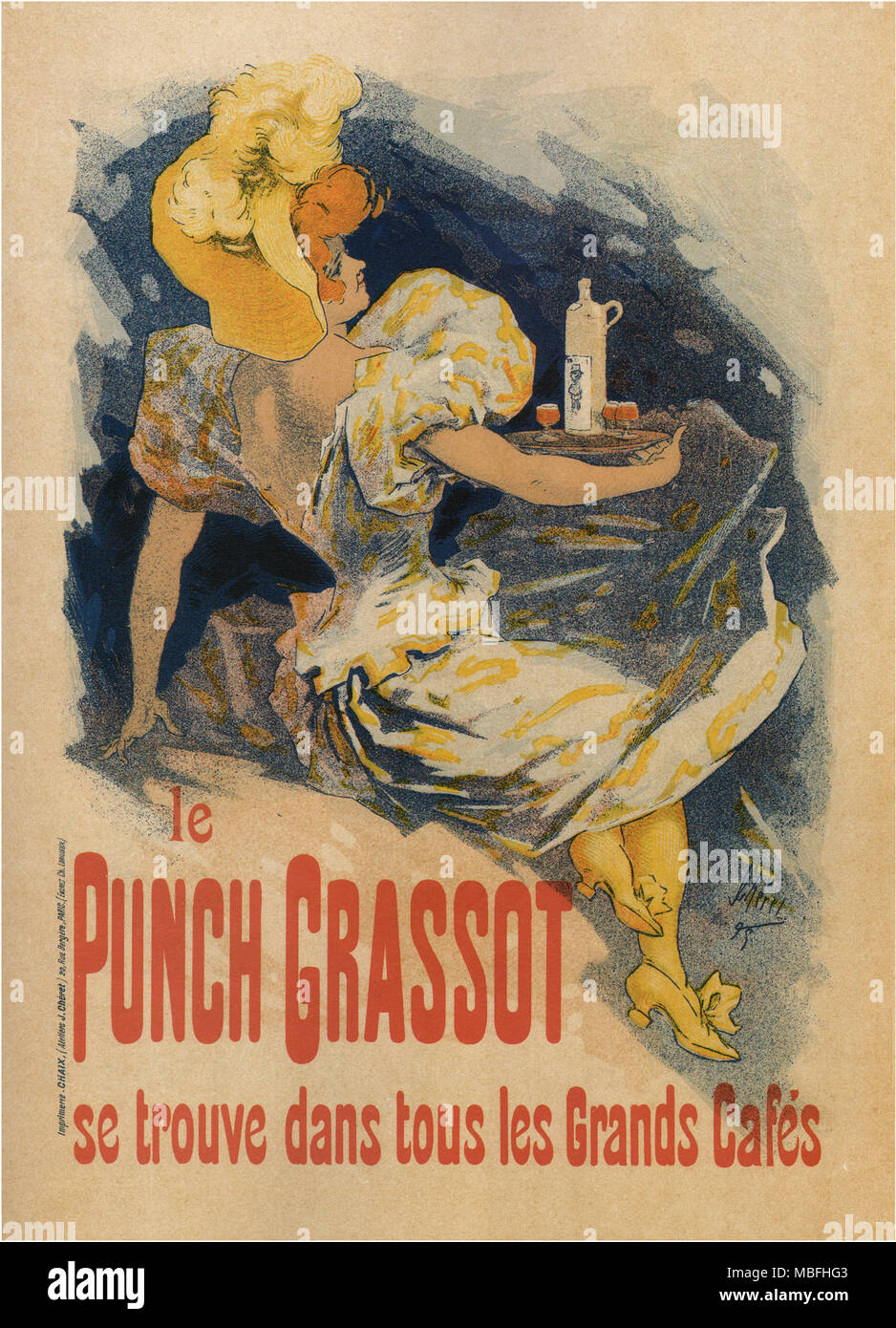 Le Punch Grassot - Stock Image
