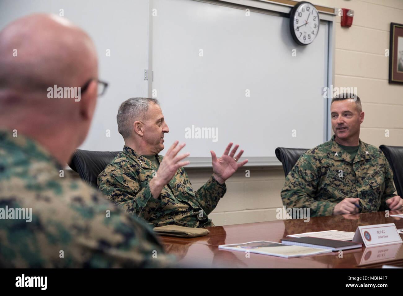Us Marine Corps Lt Gen Michael G Dana Deputy Commandant For