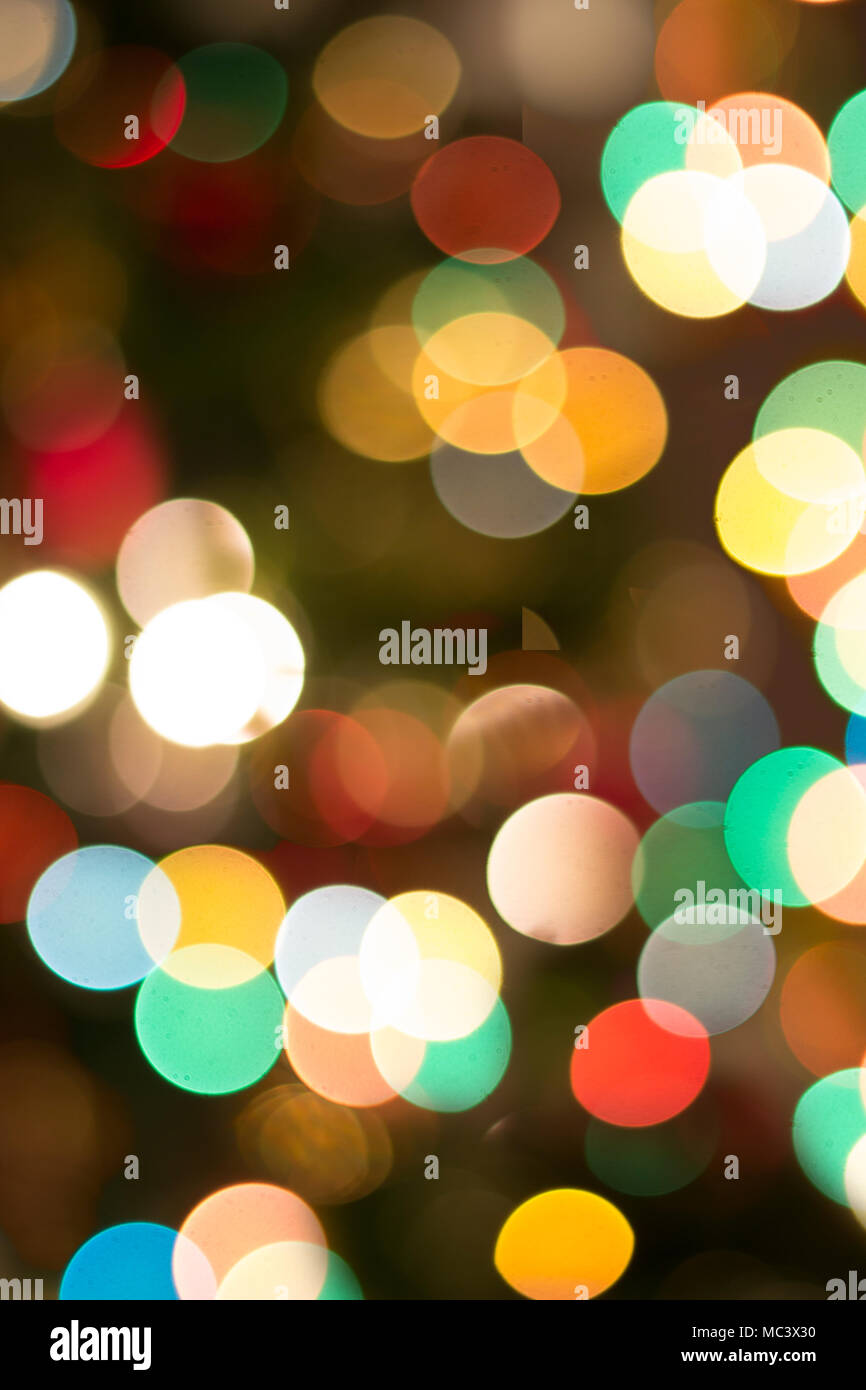 colorful bokeh background christmas lights background