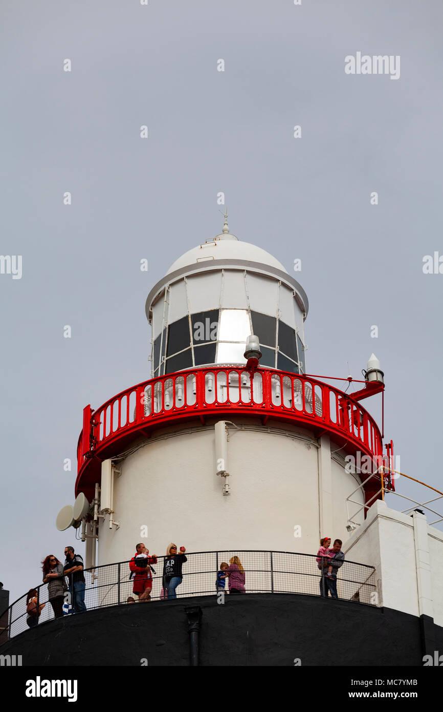 Hook Lighthouse, Hook Head, County Wexford, Ireland - Stock Image