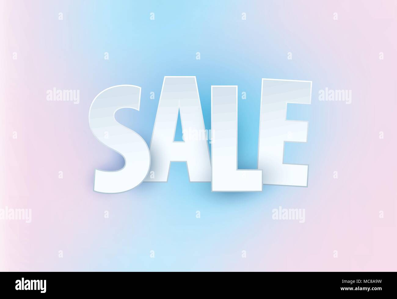 sale abstract banner template design on soft elegant background