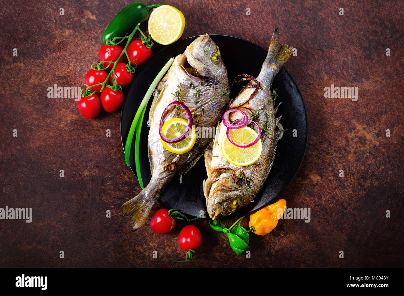 How dorado and sea bass are cooked Recipes and recommendations 98