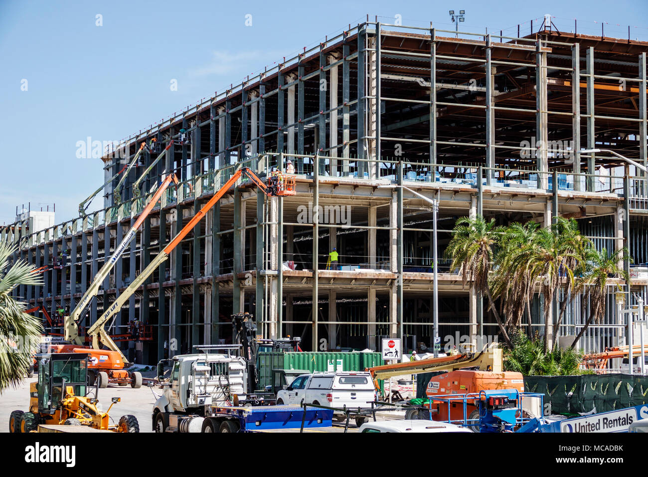 Florida Miami Beach Convention Center building addition new ...