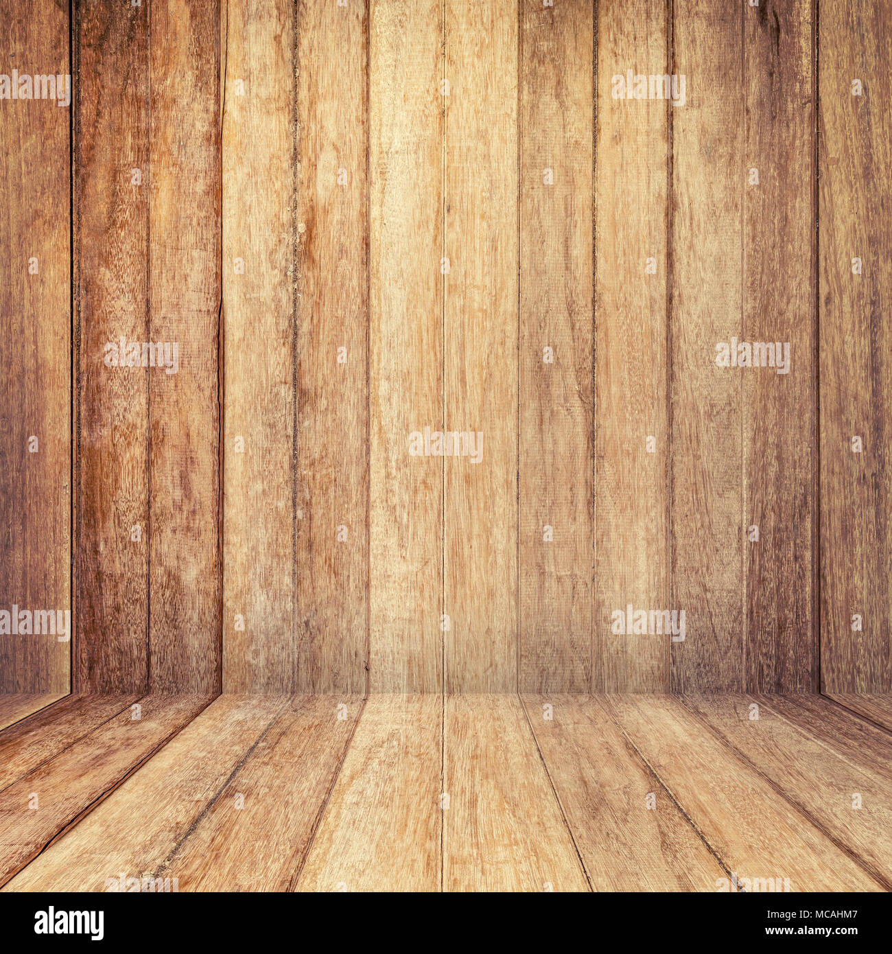 wood floor and wall background. Wood Texture Background. Old Wood Wall And Floor Perspective For Background