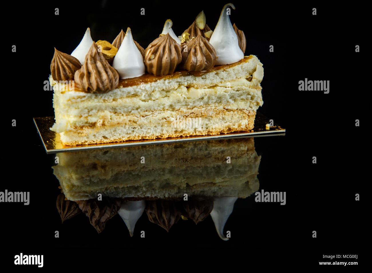 The recipe of Kiev cake is tasty and unusual 40
