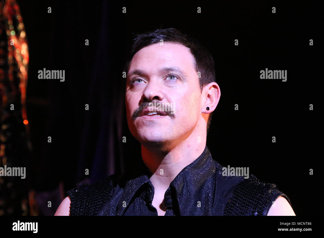 Will Young, Strictly Ballroom The Musical - Photo call, Piccadilly Theatre, London UK, 17 April 2018, Photo by Richard Goldschmidt - Stock Image