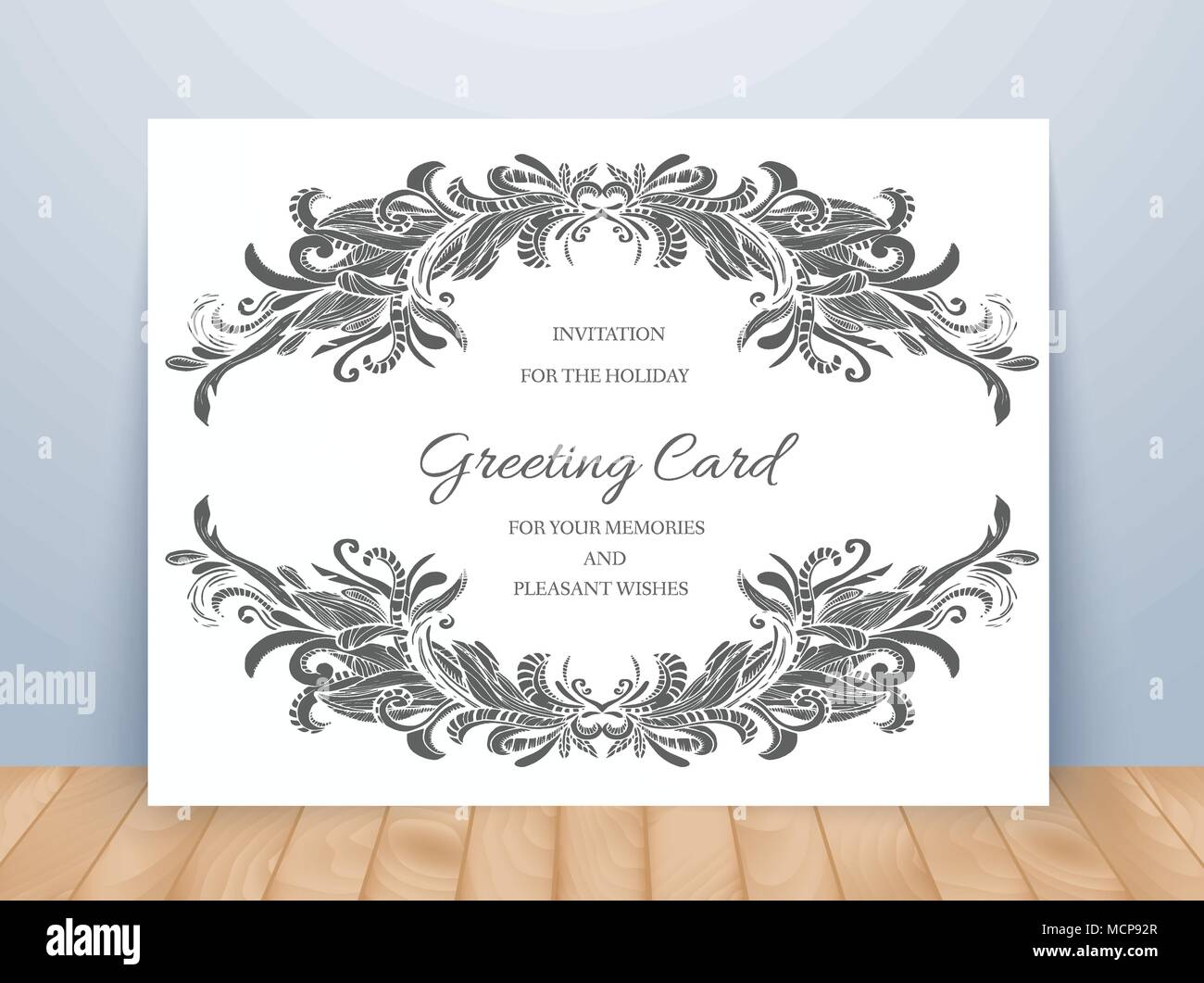 Templates of corporate identity set with doodles abstract ornament templates of corporate identity set with doodles abstract ornament vector illustration backgrounds concepts decorative retro greeting card or invitation stopboris Gallery