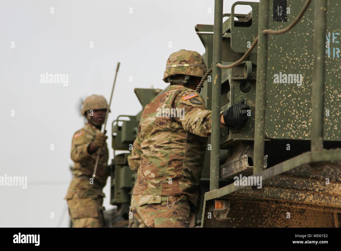 Spc Devin Hyman A Patriot Crewmember Delta Battery 5th Battalion