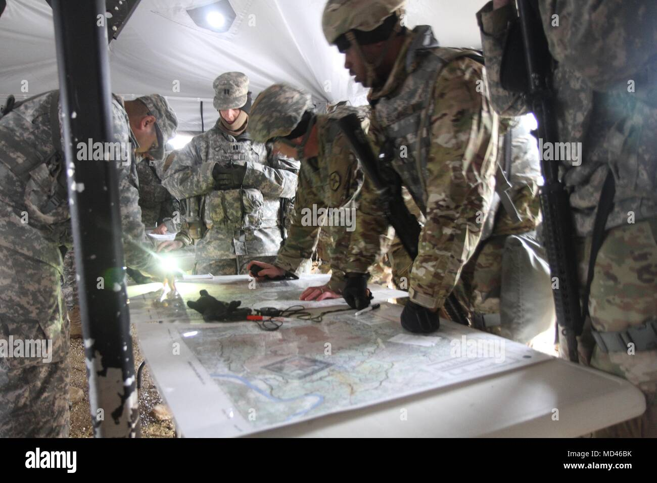 u s army reserve soldiers conduct map reading training during cstx 78 18 03
