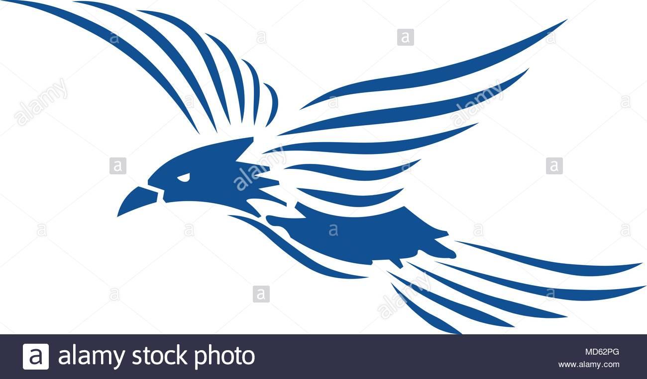 eagle logo vector stock vector art illustration vector image