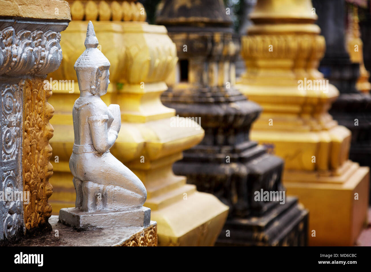 Buddhist Religion Symbols And Statues Related To Buddhism