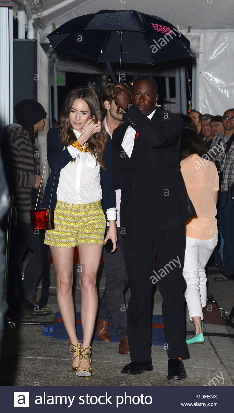 ef2ca49d1b2a Louise Roe. NO JUST JARED USAGE JCPenney launch of Joe Fresh at the JCP pop  up store