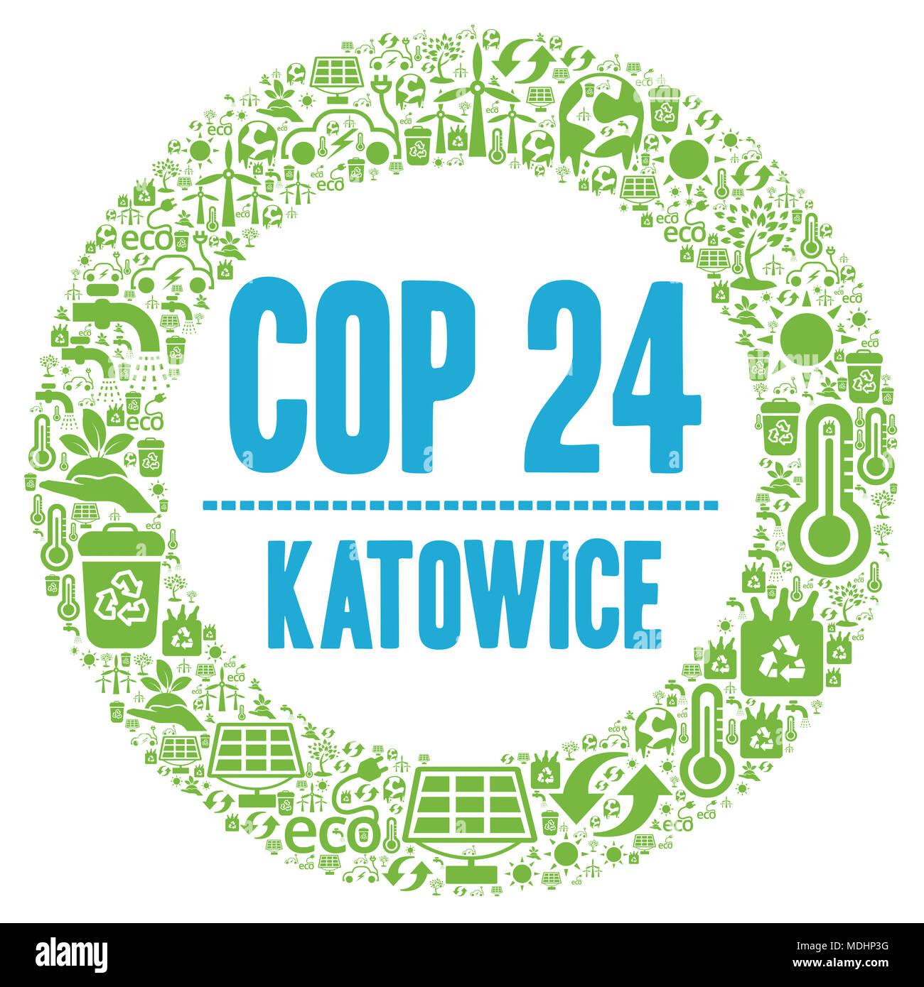 Cop 24 In Katowice Poland Stock Photo 180484740 Alamy