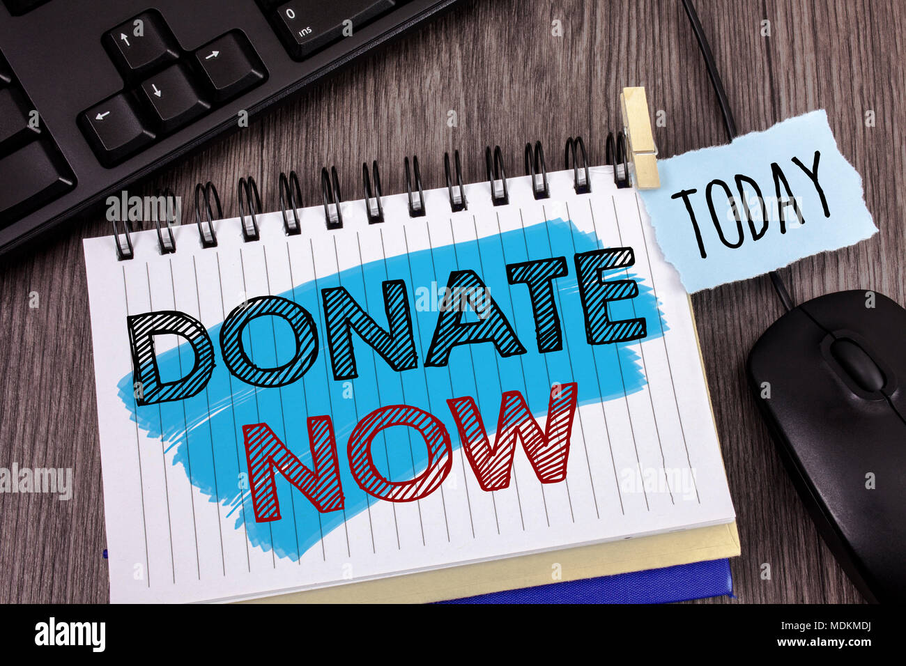 text sign showing donate now conceptual photo give something to