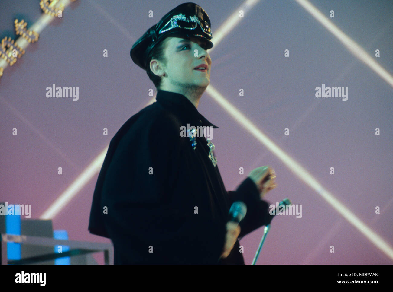 boy george - Stock Image