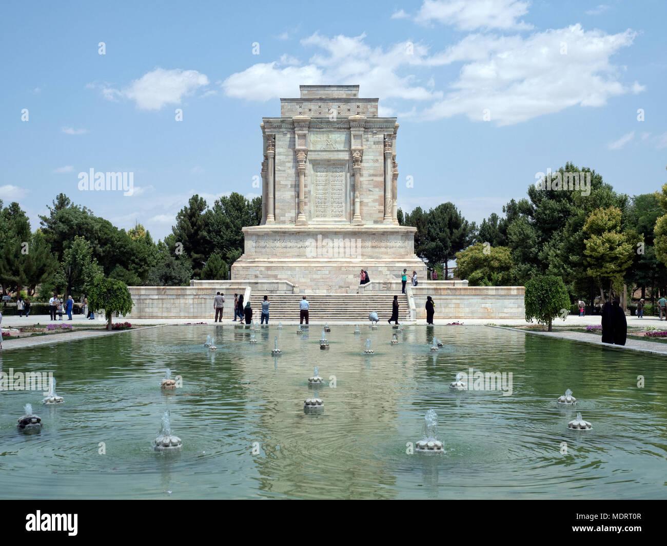 Tomb of persian poet Ferdowsi, Mashhad, Iran Stock Photo