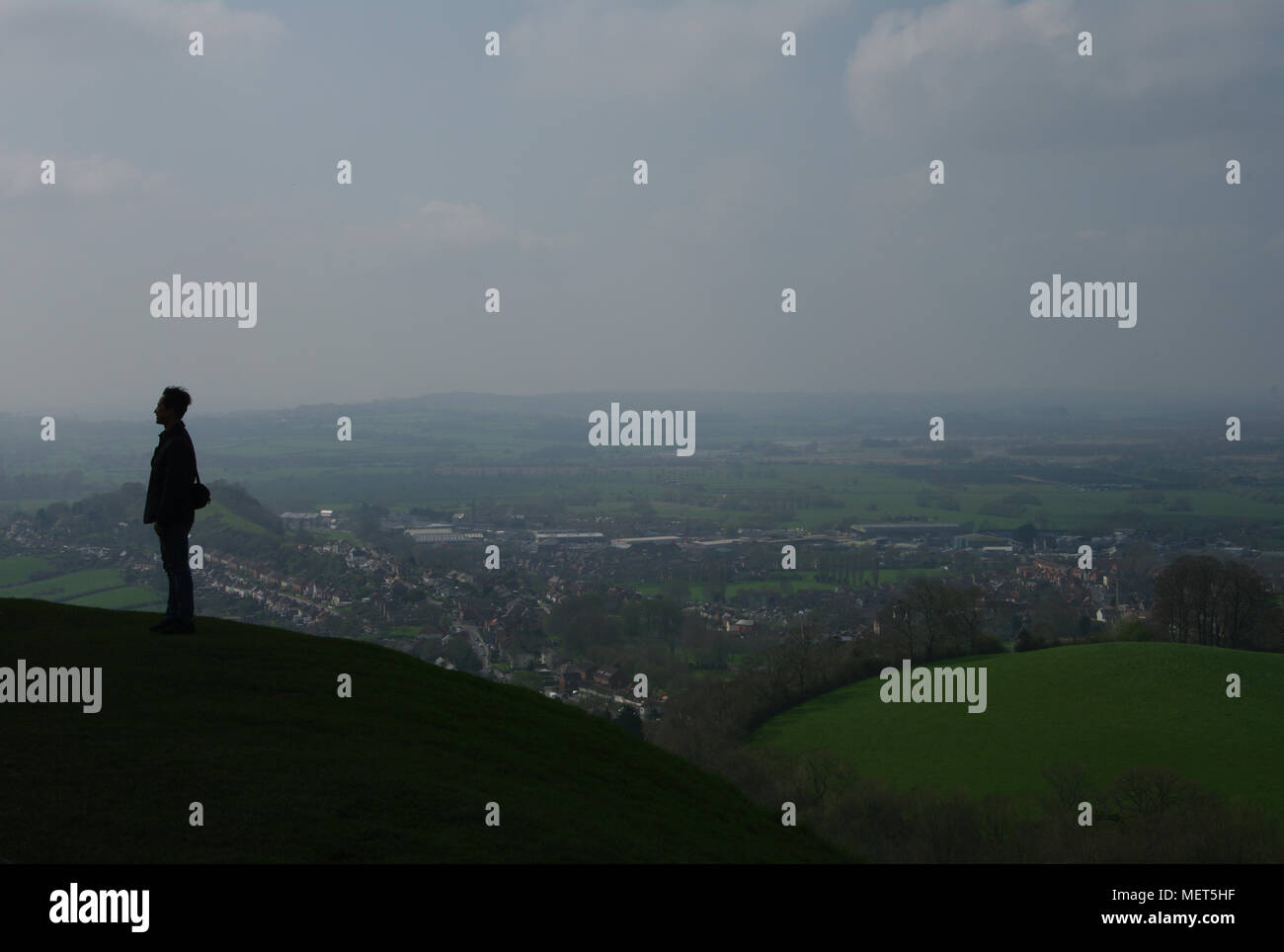 Glastonbury, England - Stock Image