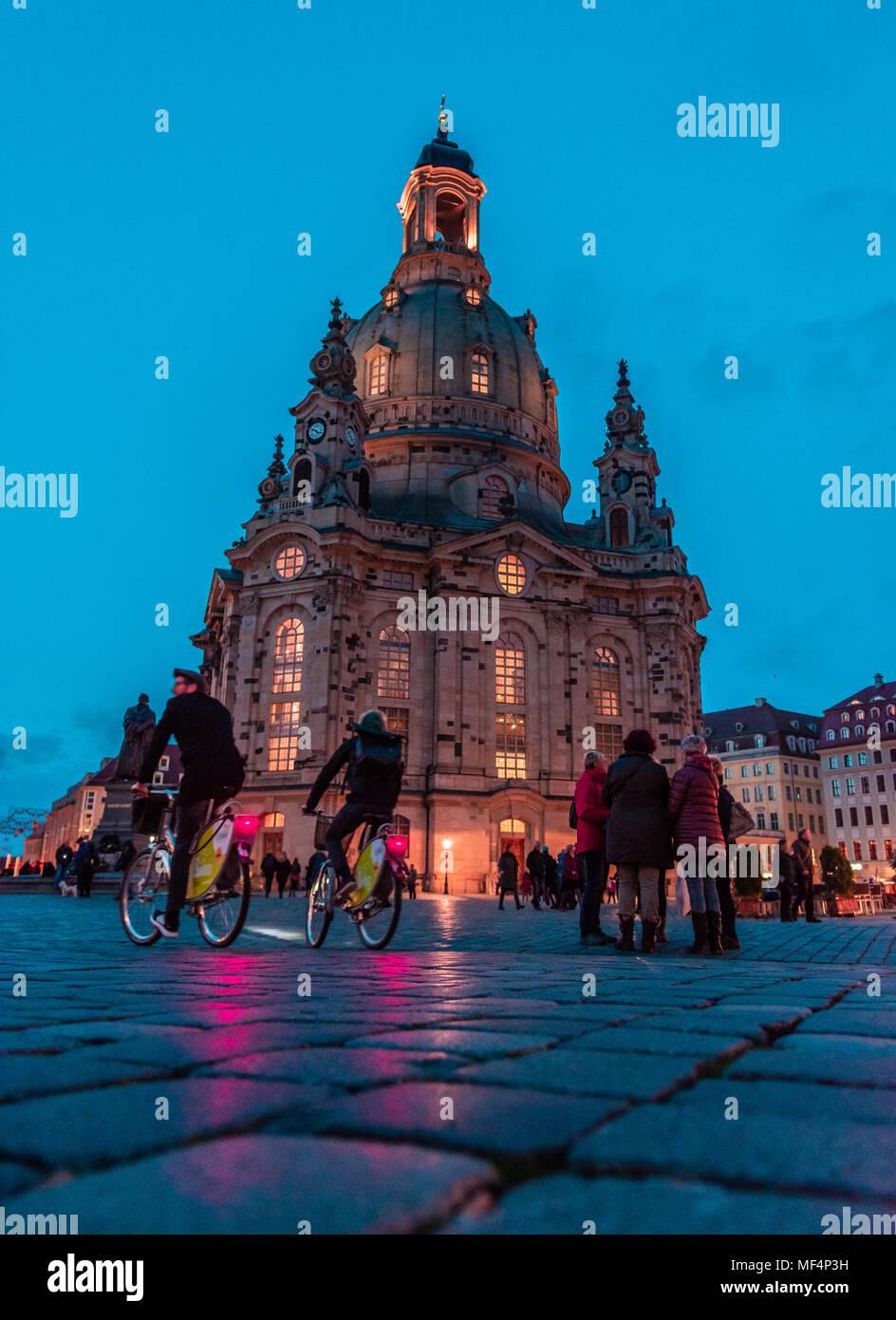 Frauenkirche, Dresden (germany) - Stock Image