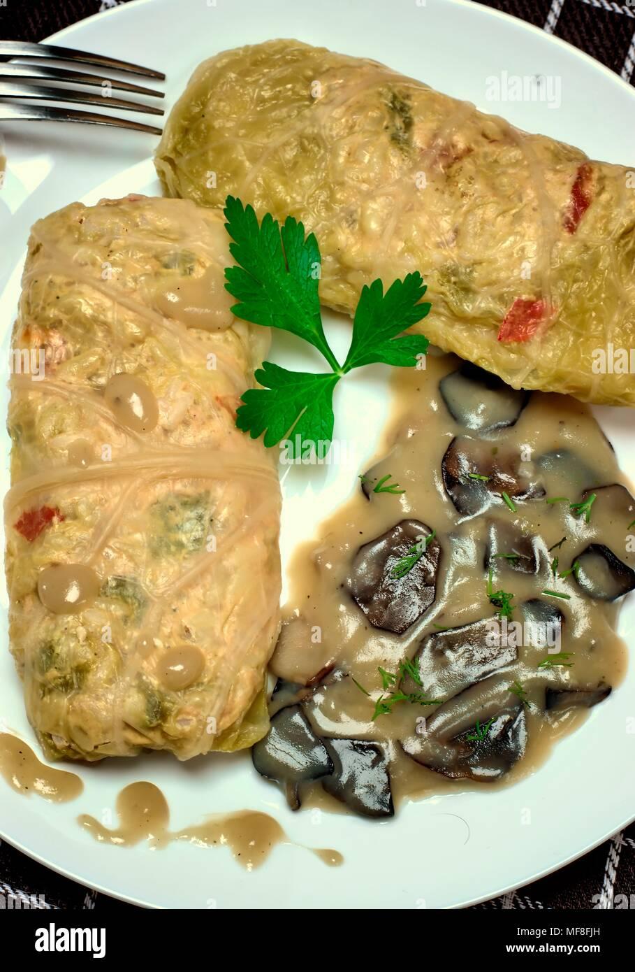 Mushroom sauce - nutritious and tasty 88