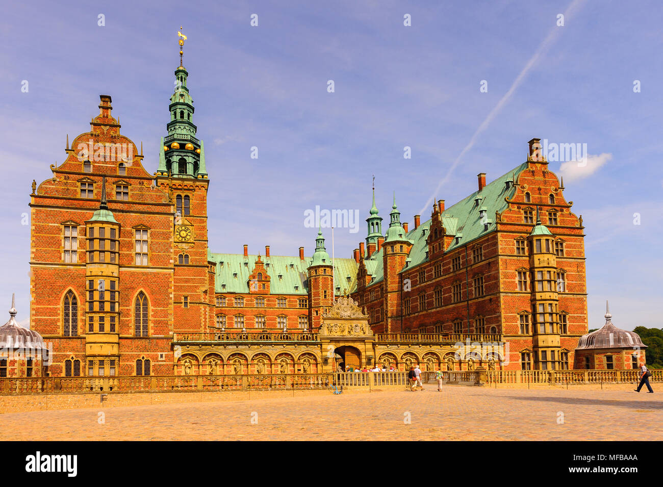 Frederiksborg Palace Or Castle A In Hillerod Denmark Former Royal Residence For King Christian IV And Now Museum Of National History