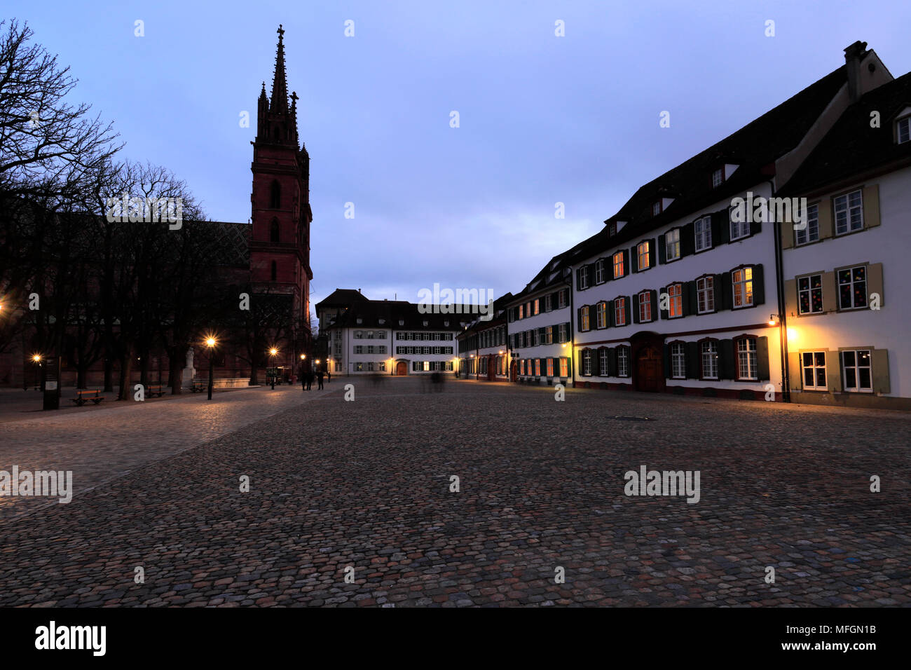Basel Cathedral Stock Photos Basel Cathedral Stock Images Alamy