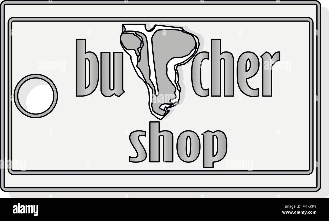 steak house or meat store labels emblems logo templates signs set