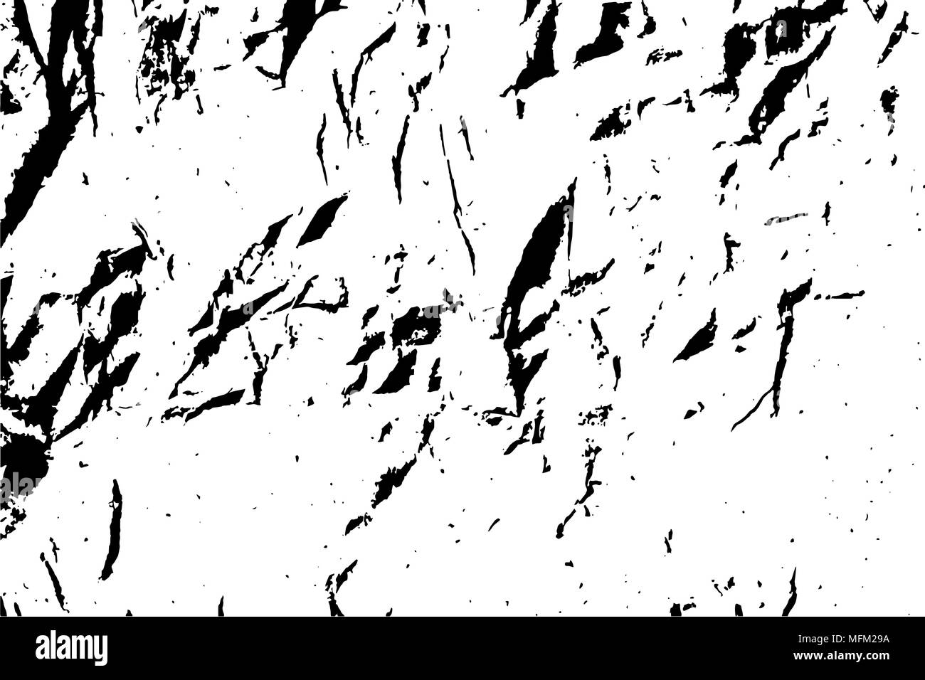 Dot crumpled paper texture background. Black and white vector ...