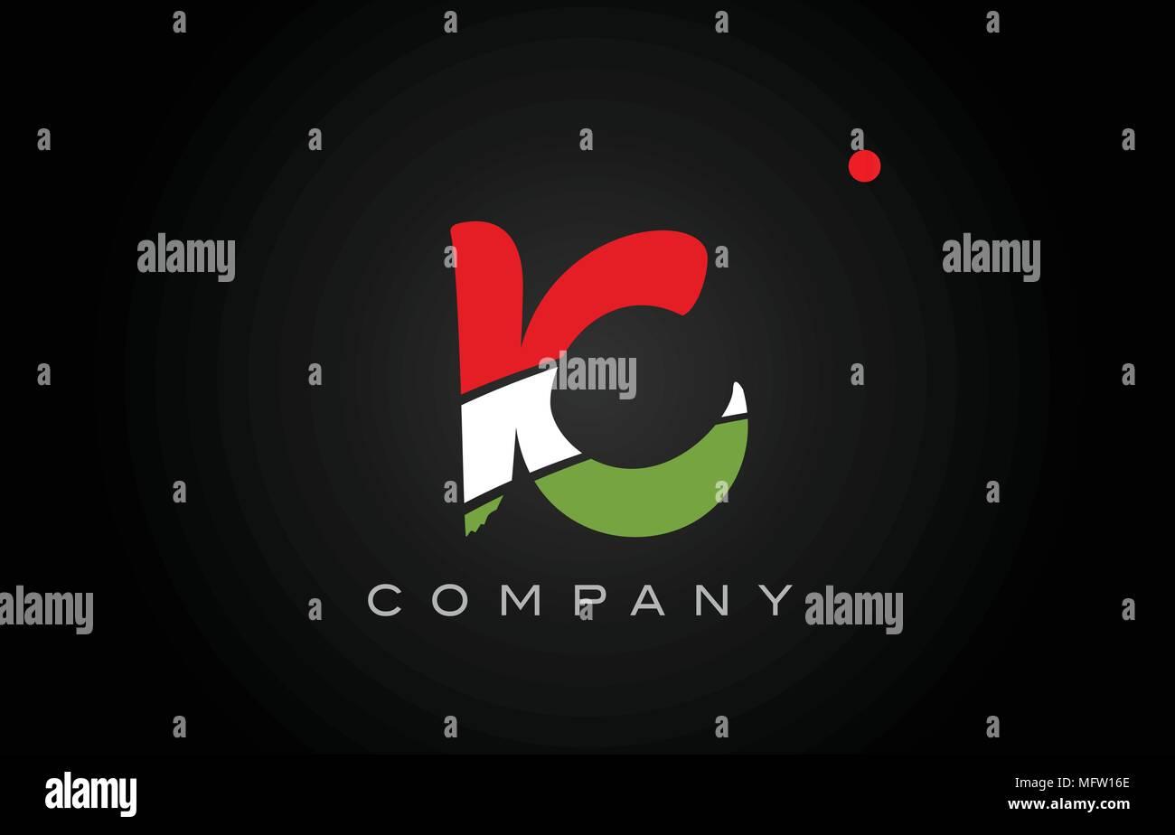 ic i c letter logo combination alphabet vector creative company icon