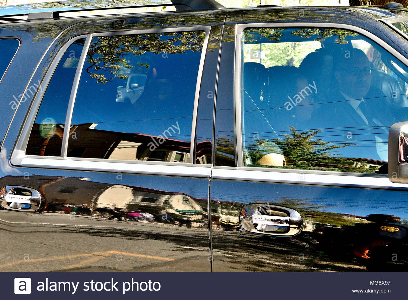 Norristown, USA. 26th Apr, 2018. Bill Cosby departs after learning of the guilty verdict in the sexual assault trial, at Montgomery County Court House in Norristown, PA, USA, on April 26, 2018. Credit: Bastiaan Slabbers/Alamy Live News - Stock Image