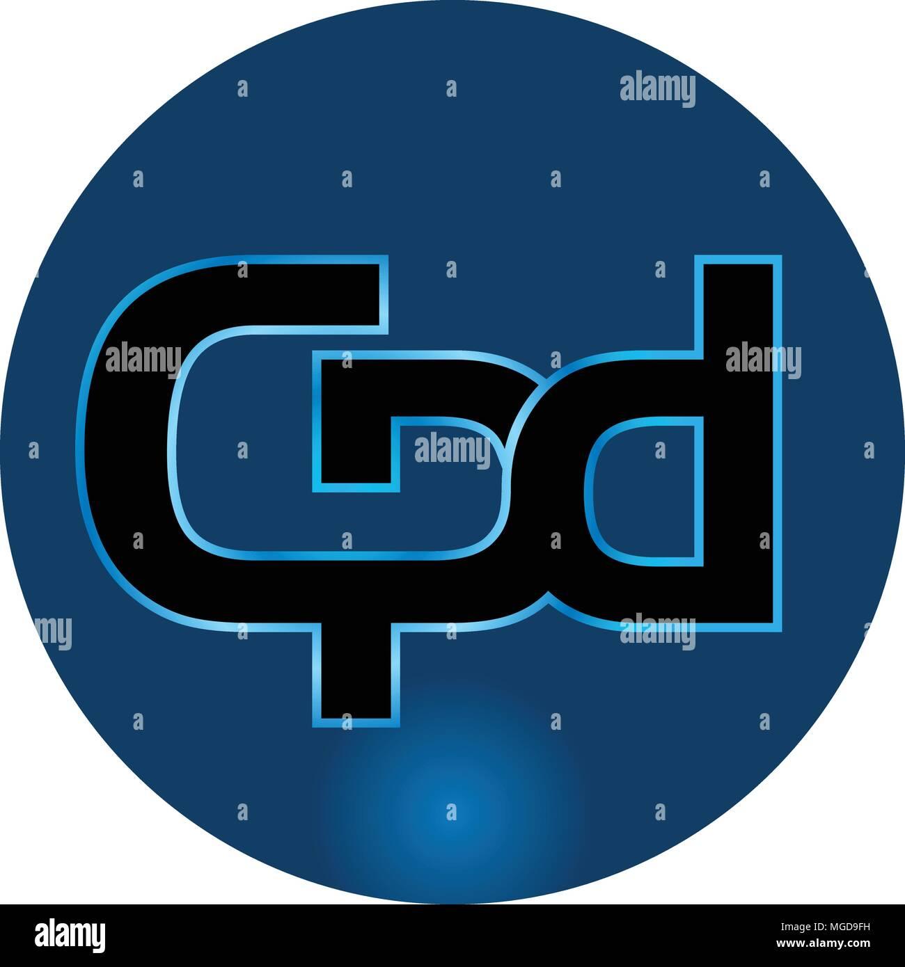Letter CPD Logo Design Template Vector Stock Vector Art ...