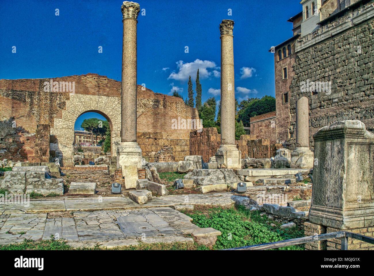 Roman Forum. Rome, Italy - Stock Image