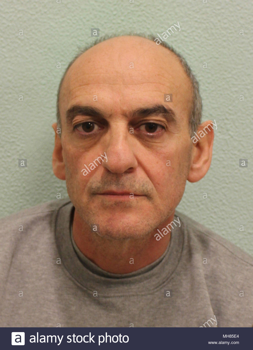 """Metropolitan Police undated handout file photo of """"deceitful and manipulative"""" father Robert Peters, 56, who has been jailed at the Old Bailey for life with a minimum term of 24 years for strangling his seven-year-old daughter Sophia. - Stock Image"""