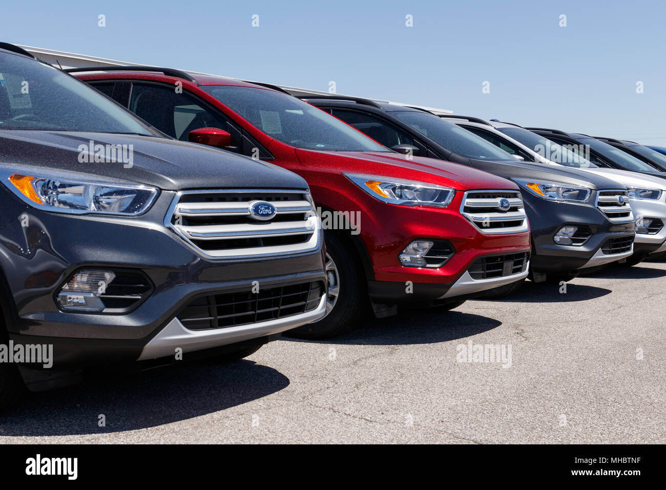 Lafayette Circa April  Local Ford Car And Truck Dealership Ford Sells Products Under The Lincoln And Motorcraft Brands Xi