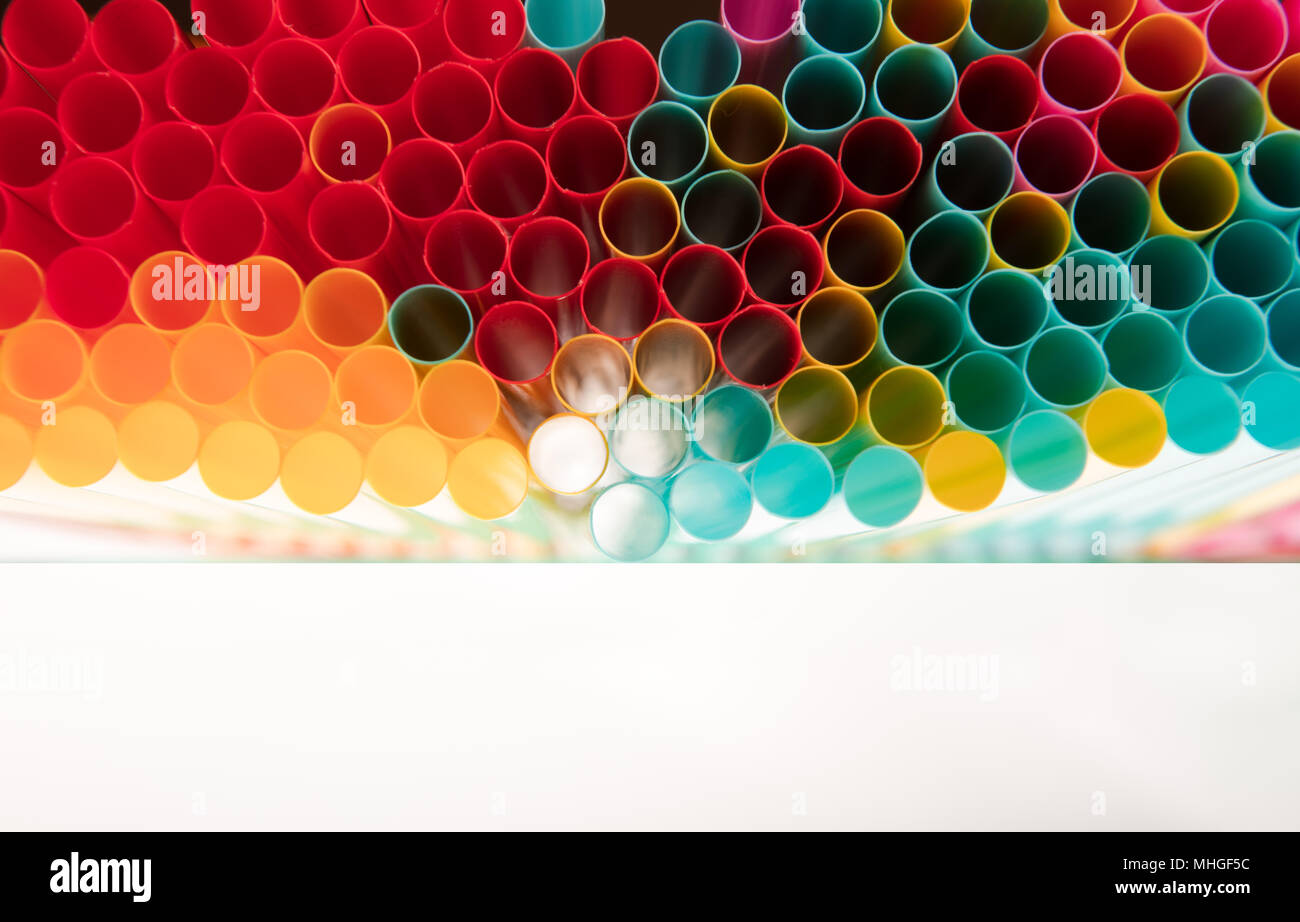 Abstract Wallpaper Of Colored Fancy Straws Rainbow Colorful Pattern Texture