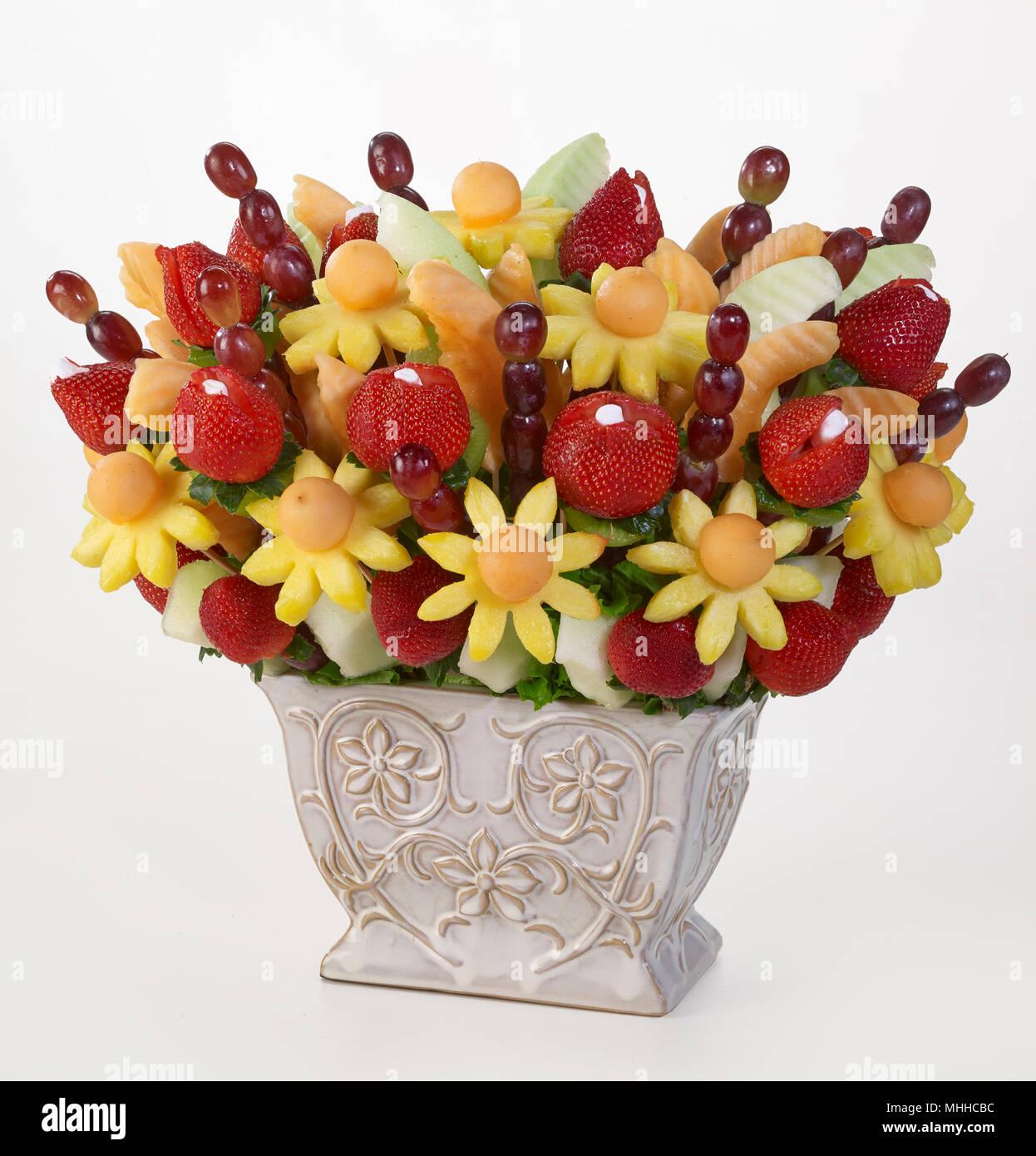 Fruit flowers bouquet stock photo 182935744 alamy fruit flowers bouquet izmirmasajfo