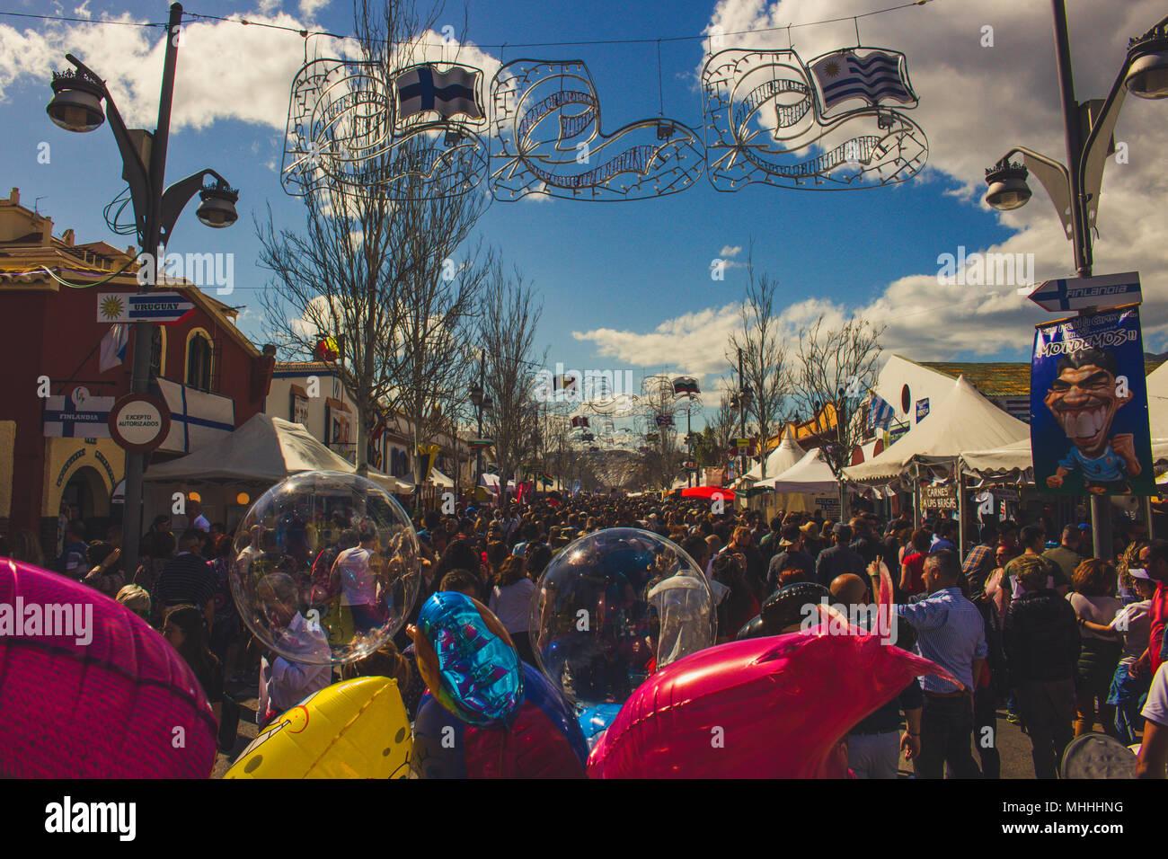 Feria De Los Pueblos or Around the World in 5 Days 34