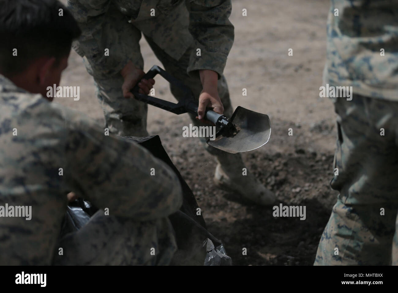 Us Marines With Marine Wing Support Squadron Mwws 272 Use An