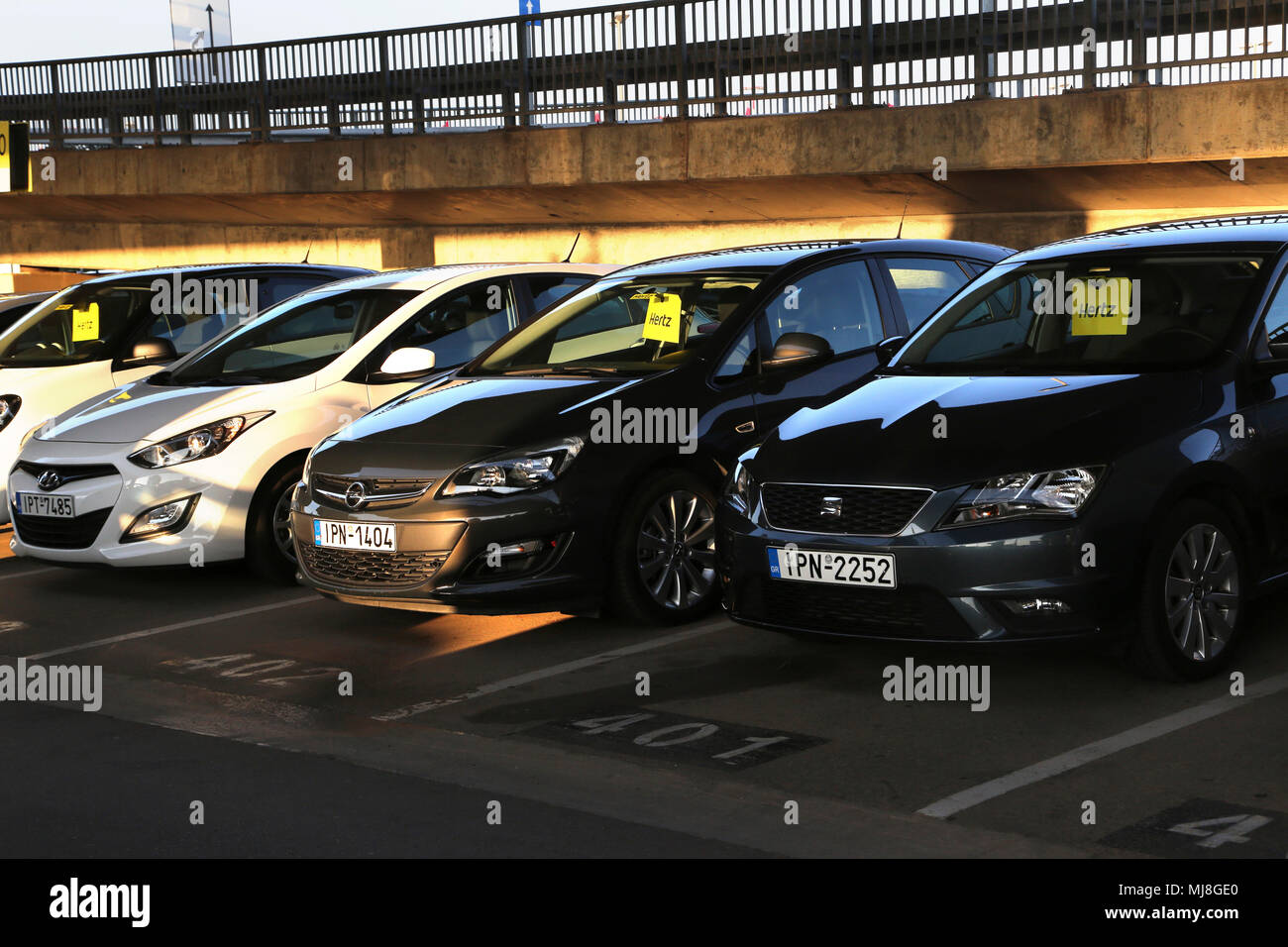 Hertz Car Rental Athens Airport
