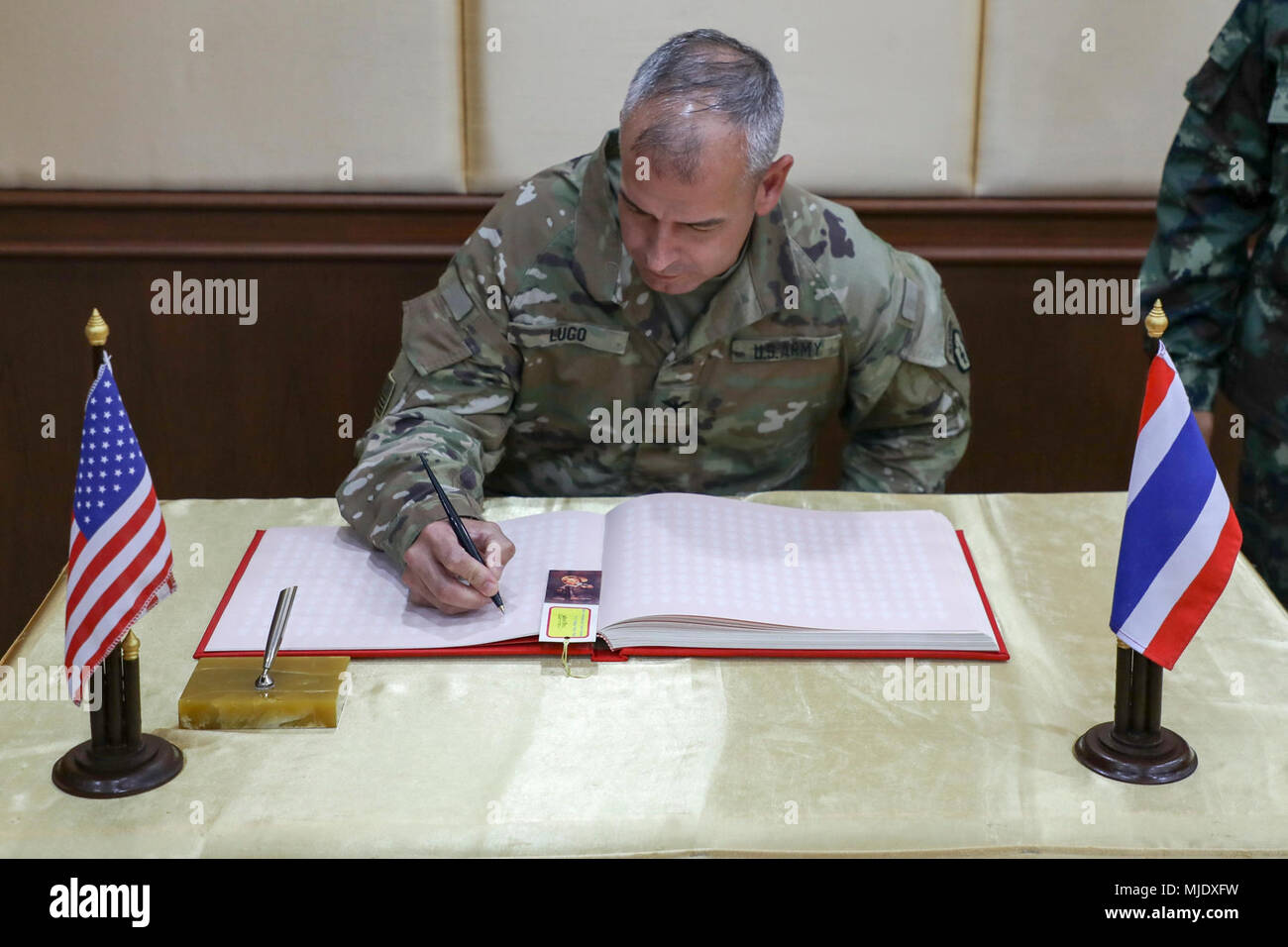 Us Army Col Anthony Lugo Commander Of 2nd Infantry Brigade
