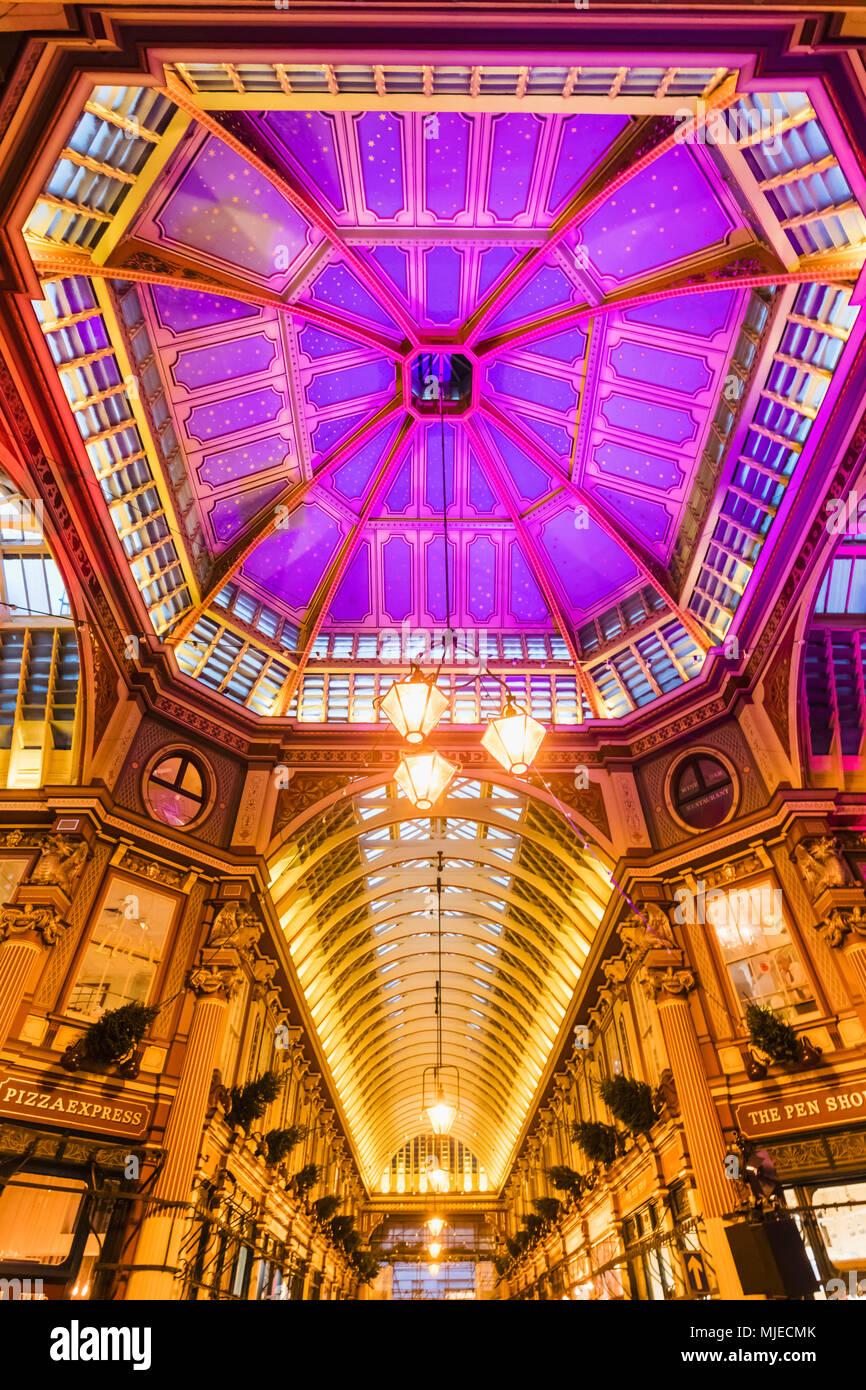 England, London, City Of London, Leadenhall Market - Stock Image