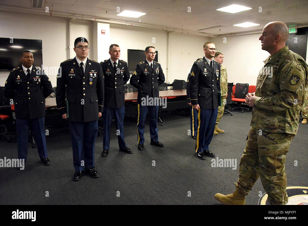 Command Sgt  Maj  Sean R  Gerner, 53rd Signal Battalion