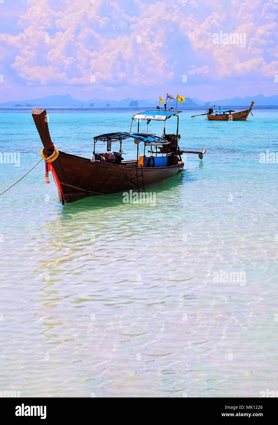 Destination: Dream: Phi Phi Islands, Thailand - Stock Image