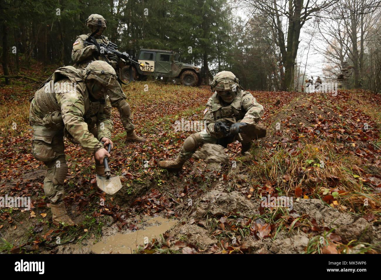 u s soldiers of the 2nd cavalry regiment regimental engineer
