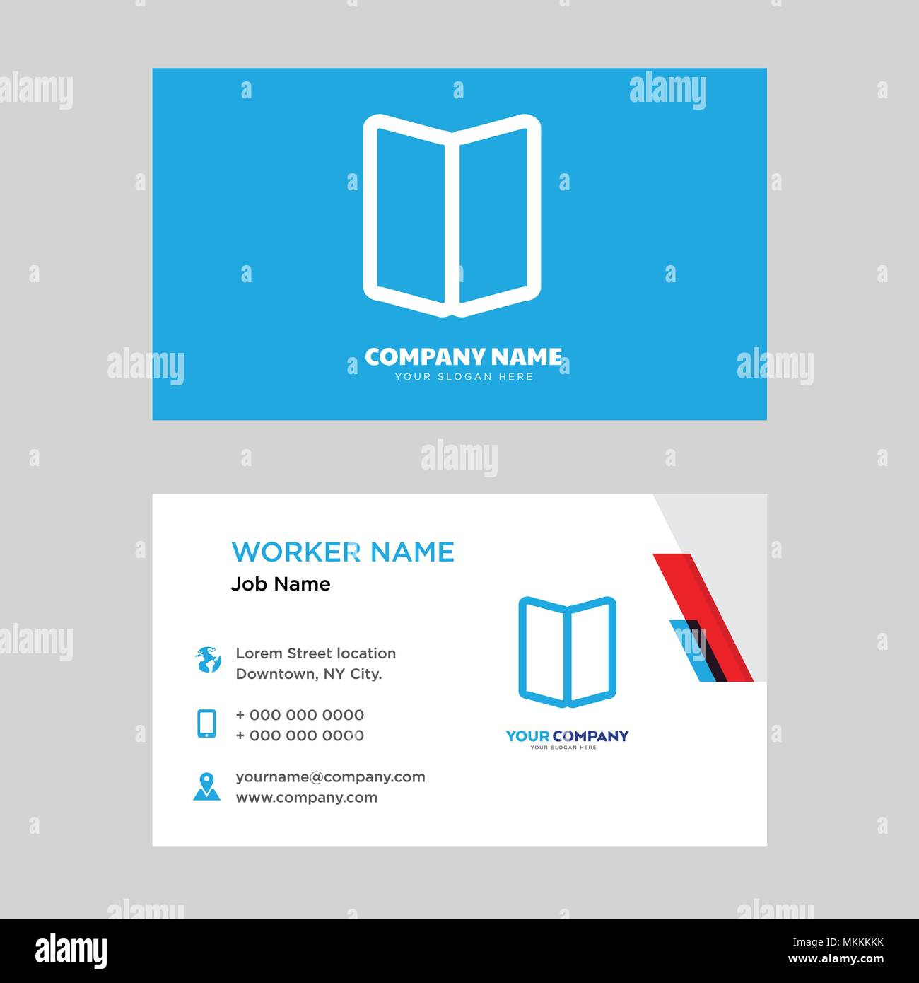 Map business card design template visiting for your company modern map business card design template visiting for your company modern horizontal identity card vector colourmoves