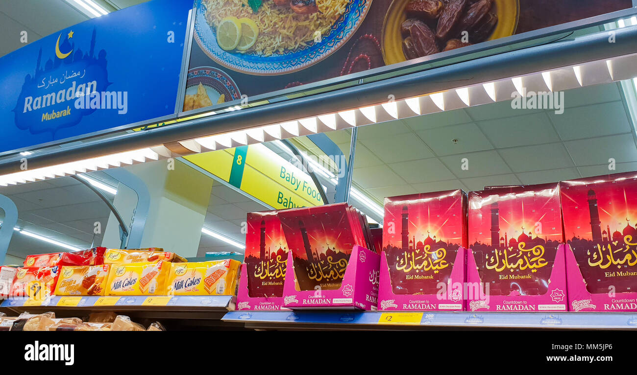 Great London 2017 Eid Al-Fitr 2018 - supermarket-morrisons-stocks-up-for-ramadan-which-begins-on-wednesday-16-may-and-ends-on-thursday-14-june-2018-the-first-day-of-shawwal-and-eid-al-fitr-falls-on-friday-15-june-2018-featuring-view-where-london-united-kingdom-when-08-apr-2018-credit-dinendra-hariawenn-MM5JP6  Image_701128 .jpg