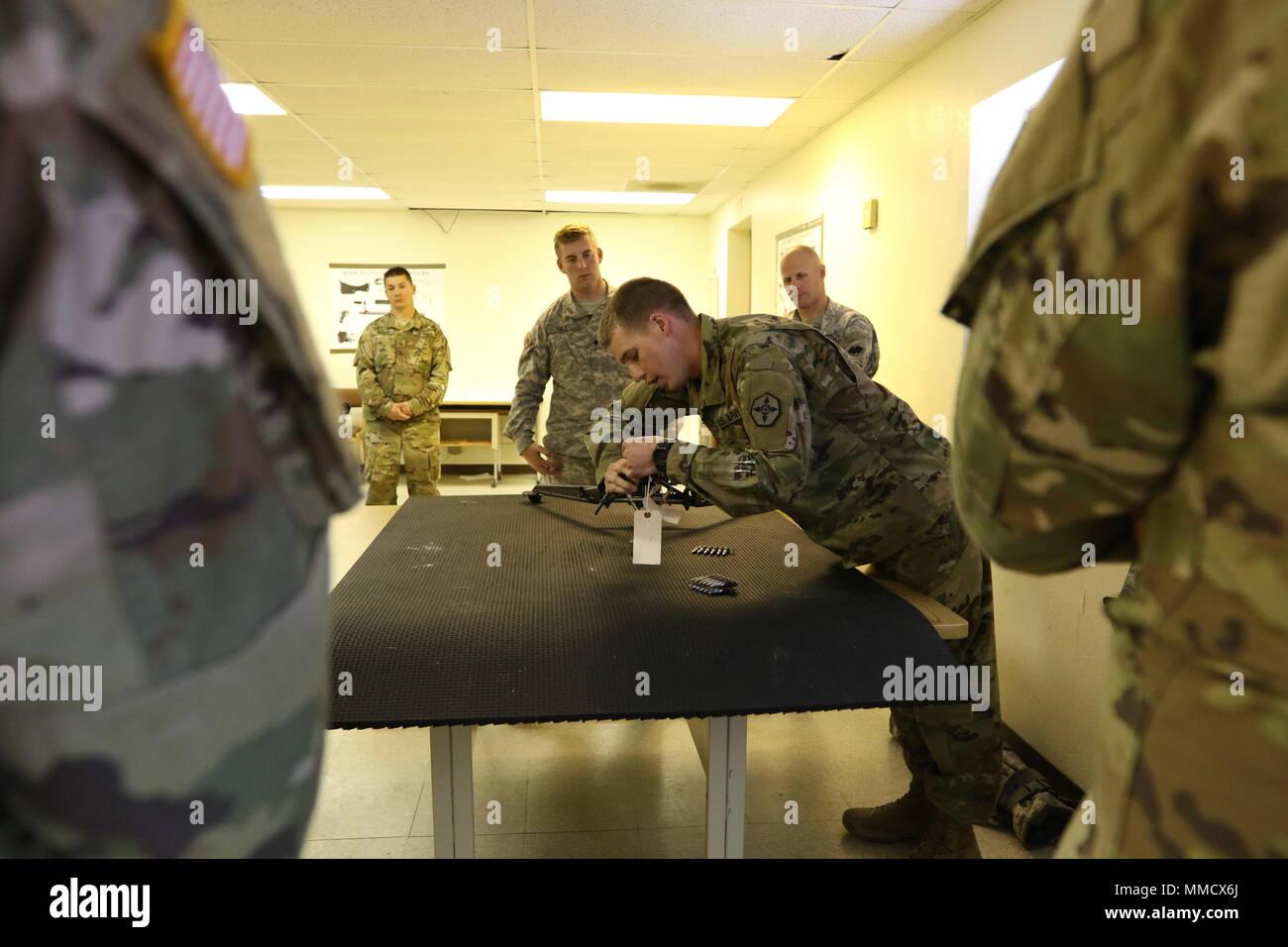 U S  Army Reserve Sgt  Corbin Garner, human resources